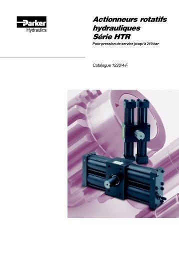 Actionneurs rotatifs hydrauliques Série HTR
