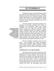 bab iii pendidikan - Bappeda Aceh