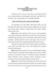 153 BAB IV VISI DAN MISI PEMBANGUNAN ... - BAPPEDA Aceh