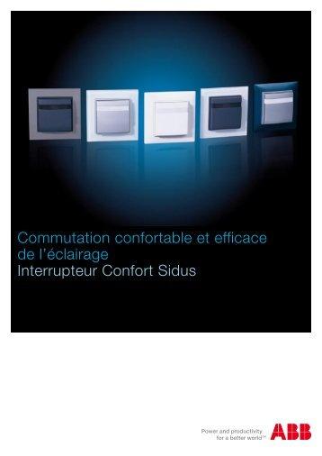 Commutation confortable et efficace de l'éclairage Interrupteur ... - Abb