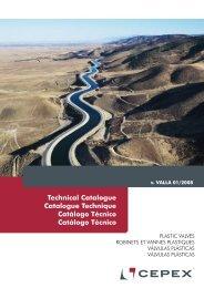 Technical Catalogue Catalogue Technique Catálogo ... - Cepex