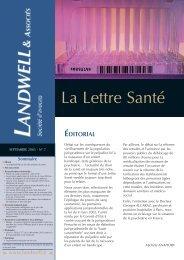 Lettre septembre 2003 - Cabestan