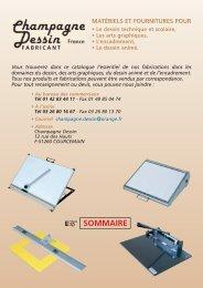 catalogue français.pdf - CHAMPAGNE DESSIN