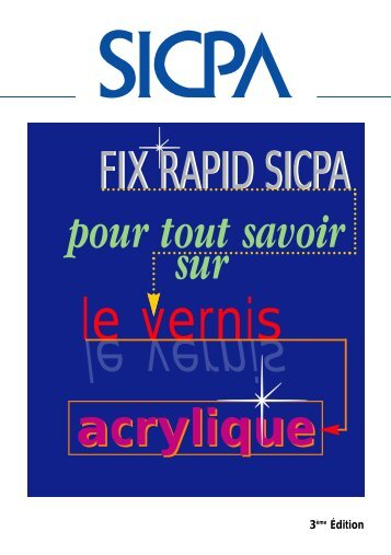 SICPA-Vernis Acryliques - BLG International