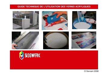 Conseils concernant l'application des vernis acryliques