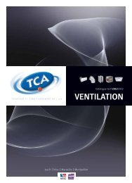 Ventilation modulée Télécharger le PDF - TCA