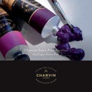 Charvin Extra Fine Acrylics Acrylique Extra Fine