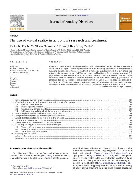 research paper on virtual reality