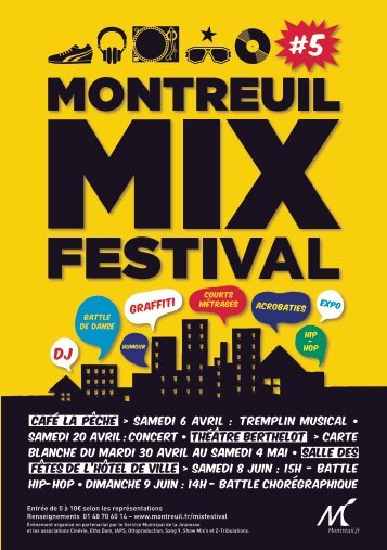 Le programme complet - Ville de Montreuil