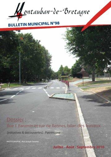 N°98 - Juillet - Août - Septembre - Montauban-de-Bretagne