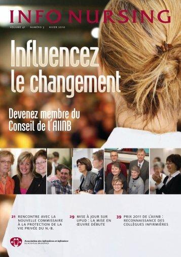 HiVer 2010 - Association des infirmières et infirmiers du Nouveau ...