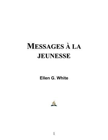 MESSAGES À LA JEUNESSE - Le site de Richard Lemay