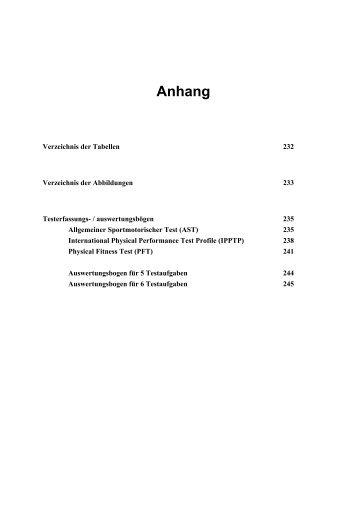 Verzeichnis von Tabellen und Abbildungen - Dr. Jochen Beck