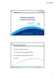 Politique énergétique - Base Institutionnelle de Recherche de l ...