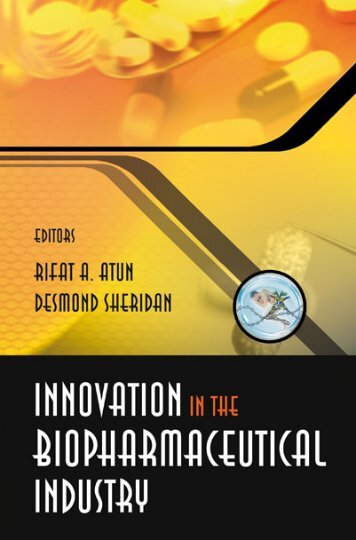 Innovation in the Biopharmaceutical Industry (152 pages)