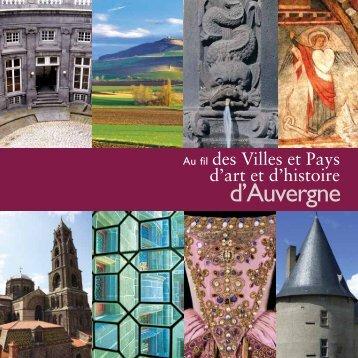 d'Auvergne - Ministère de la Culture et de la Communication