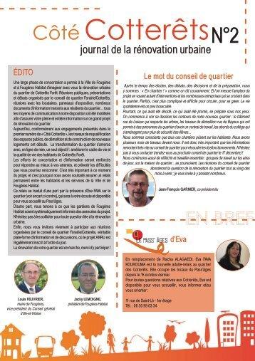 Journal de l'ANRU - n°2.pdf - Ville de Fougères