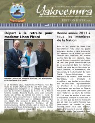 L'édition HIVER 2013 - Wendake