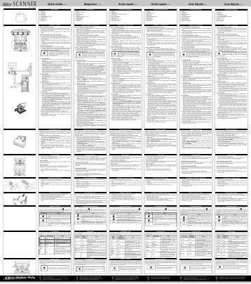 Quick Guide Wegweiser Guide rapide Guida rapida Guía Rápida ...