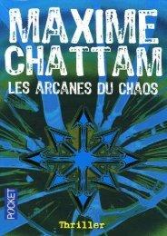 Le Cycle de l'homme 1 - Les arcanes du chaos