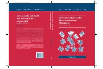 Environmental and Health Risk Assessment and Management ...