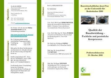 Qualität der Bauabwicklung -