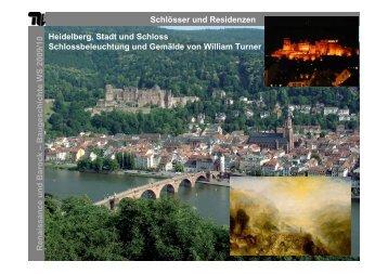 Schlösser und Residenzen Renaissance und Barock – B ...