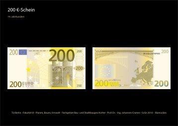 200 €-Schein - TU Berlin