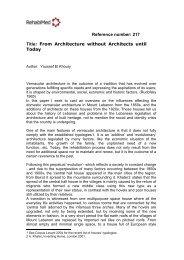 From Architecture Without
