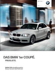 Preise 1er Coupe - BMW Baum Automobile