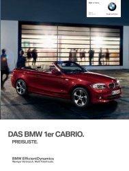 Preise 1er Cabrio - BMW Baum Automobile