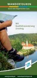 WANDERTOUREN - Bayerischer Jura