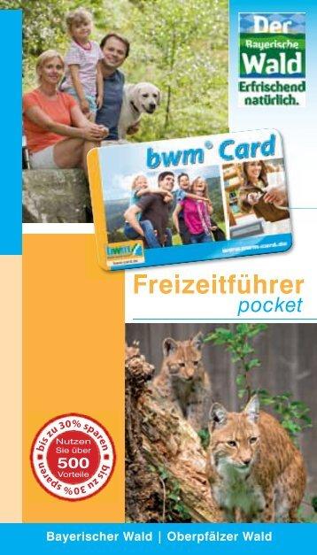 Download Freiteitführer pocket - BayerwaldCard