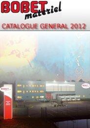 CATALOGUE GÉNÉRAL 2012 (28.7 Mo) - Bobet-materiel.com