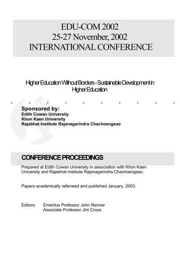 EDUCOM Final Proceedings.pdf - Curtin University