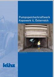 Pumpspeicherkraftwerk Kopswerk II, Österreich