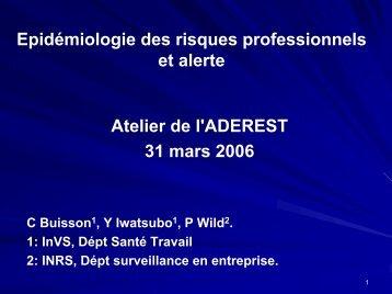 Atelier Alerte-Lille mars 06.pdf - Université Lille 2 Droit et Santé