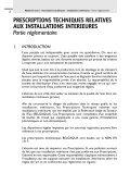 Prescriptions techniques - Installations intérieures - Belgaqua - Page 3