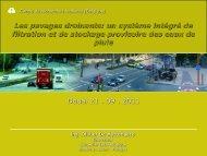Les pavages drainants: un système intégré de filtration et ... - ADOPTA