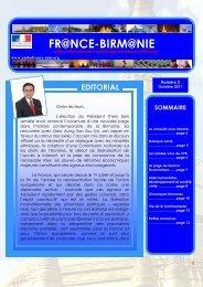 Octobre 2011 - La France en Birmanie