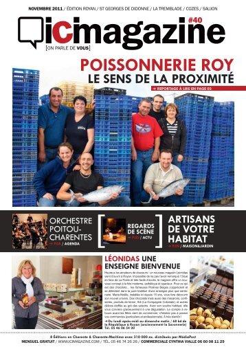 on parle de vous - ICI Magazine