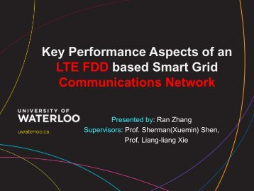 Key Performance Aspects of an LTE FDD based Smart Grid ...