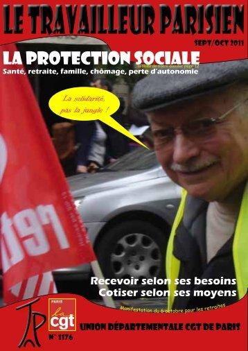 Le travailleur parisien - Union départementale CGT Paris