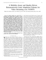 A Mobility-Aware and Quality-Driven Retransmission ... - IEEE Xplore