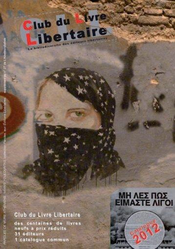 Éditions Libertaires - Club du Livre Libertaire