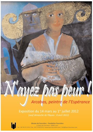 Arcabas, peintre de l'Espérance - Foxoo