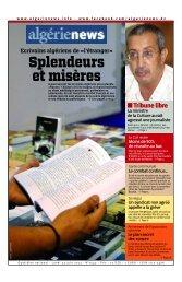 Fr-24-06-2013 - Algérie news quotidien national d'information