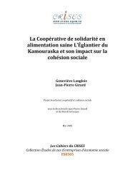 La Coopérative de solidarité en alimentation saine L'Églantier du ...