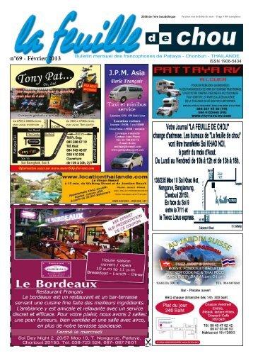n°69 - Février 2013 - La feuille de chou