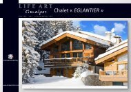 CHALET GRANDE ROCHE - Life Art by Cimalpes